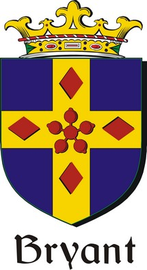 Thumbnail Bryant Family Crest / Irish Coat of Arms Image Download