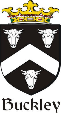 Thumbnail Buckley2 Family Crest / Irish Coat of Arms Image Download