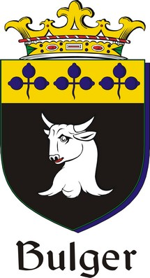 Thumbnail Bulger Family Crest / Irish Coat of Arms Image Download
