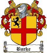 Thumbnail Burke Family Crest / Irish Coat of Arms Image Download