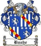 Thumbnail Bushe Family Crest / Irish Coat of Arms Image Download