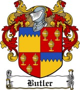 Thumbnail Butler Family Crest / Irish Coat of Arms Image Download