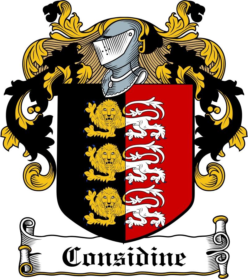 Thumbnail CONSIDINE Family Crest / Irish Coat of Arms Image Download