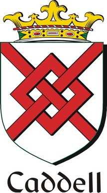 Thumbnail Caddell Family Crest / Irish Coat of Arms Image Download