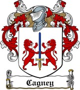 Thumbnail Cagney Family Crest / Irish Coat of Arms Image Download
