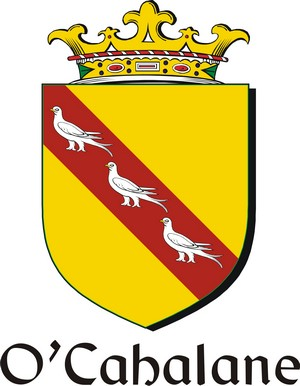 Thumbnail Cahalane-O Family Crest / Irish Coat of Arms Image Download