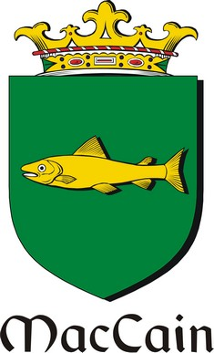 Thumbnail Cain-Mac Family Crest / Irish Coat of Arms Image Download