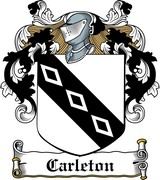 Thumbnail Carleton Family Crest / Irish Coat of Arms Image Download