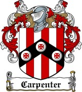 Thumbnail Carpenter Family Crest / Irish Coat of Arms Image Download
