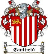Thumbnail Caulfield Family Crest / Irish Coat of Arms Image Download