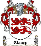 Thumbnail Clancy Family Crest / Irish Coat of Arms Image Download