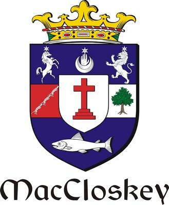 Thumbnail Closkey-Mac Family Crest / Irish Coat of Arms Image Download