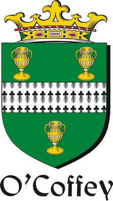 Thumbnail Coffey-O Family Crest / Irish Coat of Arms Image Download