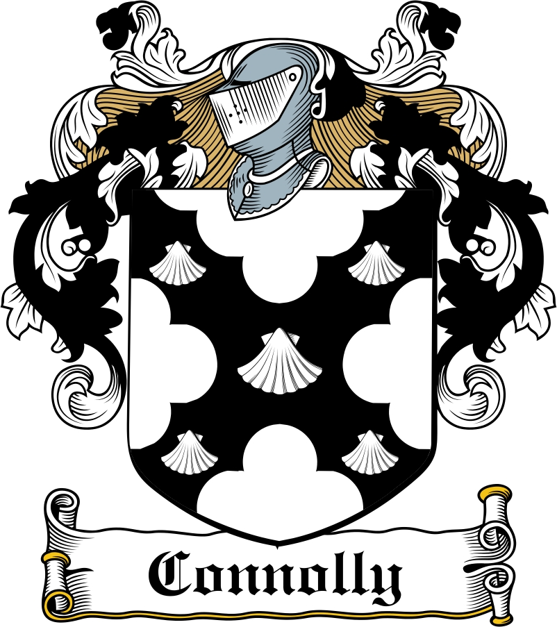 Thumbnail Connolly Family Crest / Irish Coat of Arms Image Download