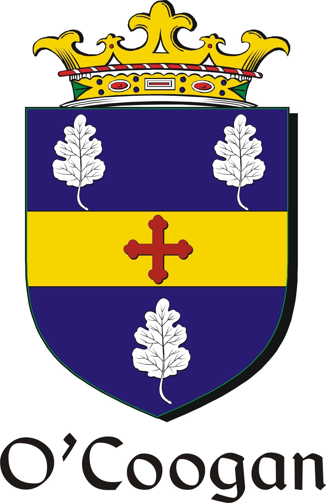 Thumbnail Coogan-O Family Crest / Irish Coat of Arms Image Download