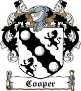 Thumbnail Cooper Family Crest / Irish Coat of Arms Image Download
