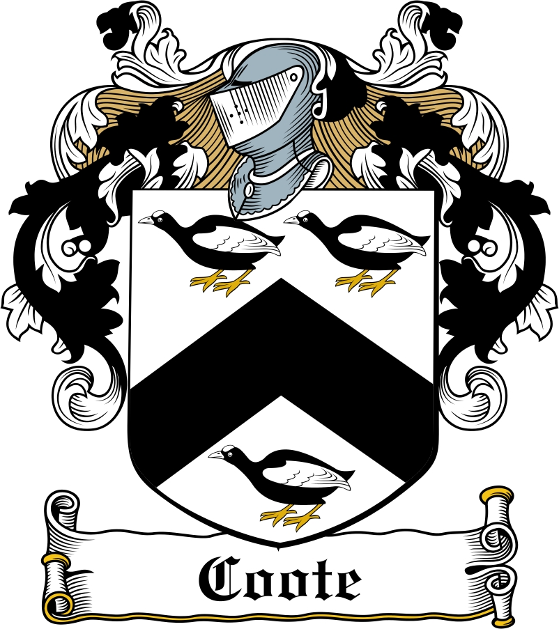 Thumbnail Coote Family Crest / Irish Coat of Arms Image Download