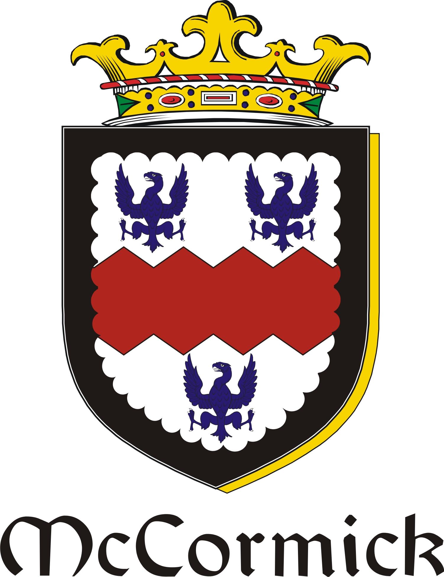Thumbnail Cormick-Mc Family Crest / Irish Coat of Arms Image Download