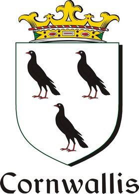 Thumbnail Cornwallis Family Crest / Irish Coat of Arms Image Download