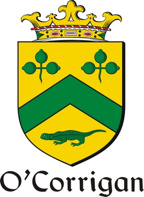 Thumbnail Corrigan-O Family Crest / Irish Coat of Arms Image Download