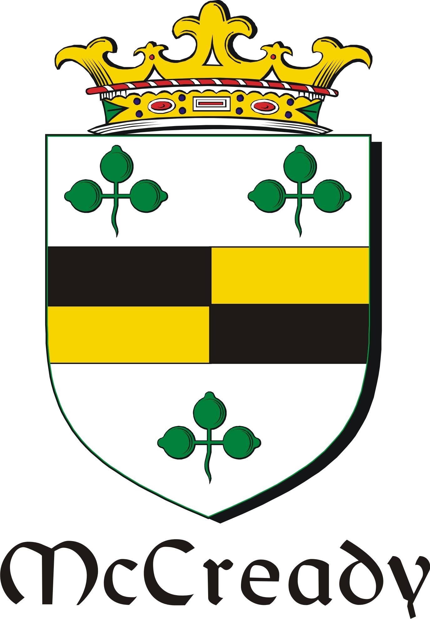 Thumbnail Cready-Mc Family Crest / Irish Coat of Arms Image Download