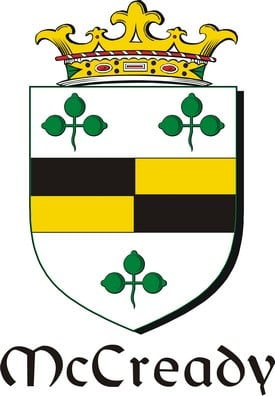 Thumbnail Cready-Mc Family Crest / Irish Coat of Arms Image Download