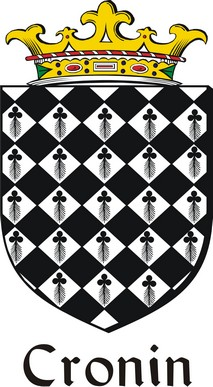 Thumbnail Cronin Family Crest / Irish Coat of Arms Image Download