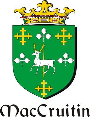 Thumbnail Cruitin-Mac Family Crest / Irish Coat of Arms Image Download