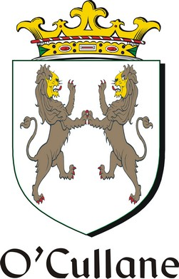 Thumbnail Cullane-O Family Crest / Irish Coat of Arms Image Download