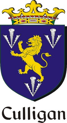 Thumbnail Culligan Family Crest / Irish Coat of Arms Image Download