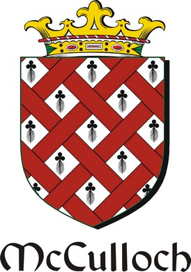 Thumbnail Culloch-Mc Family Crest / Irish Coat of Arms Image Download