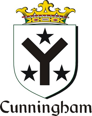 Thumbnail Cunningham Family Crest / Irish Coat of Arms Image Download