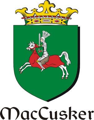 Thumbnail Cusker-Mac Family Crest / Irish Coat of Arms Image Download