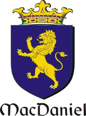 Thumbnail Daniel-Mac Family Crest / Irish Coat of Arms Image Download