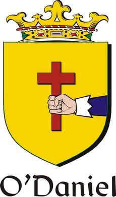 Thumbnail Daniel-O Family Crest / Irish Coat of Arms Image Download