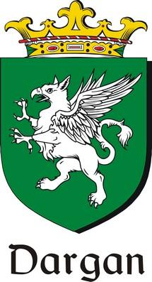 Thumbnail Dargan Family Crest / Irish Coat of Arms Image Download