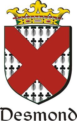 Thumbnail Desmond Family Crest / Irish Coat of Arms Image Download