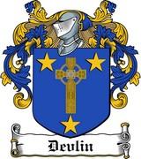 Thumbnail Devlin Family Crest / Irish Coat of Arms Image Download