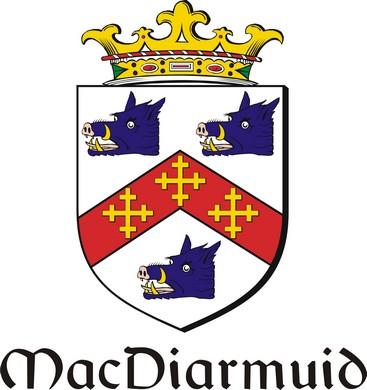 Thumbnail Diarmuid-Mac Family Crest / Irish Coat of Arms Image Download