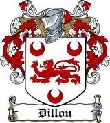 Thumbnail Dillon Family Crest / Irish Coat of Arms Image Download