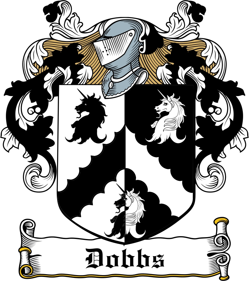 Thumbnail Dobbs Family Crest / Irish Coat of Arms Image Download