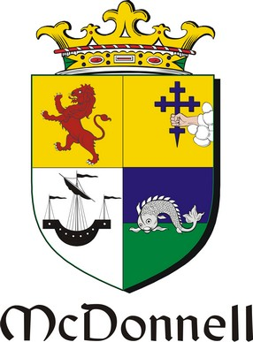 Thumbnail Donnell-Mc Family Crest / Irish Coat of Arms Image Download