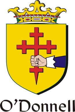 Thumbnail Donnell-O Family Crest / Irish Coat of Arms Image Download