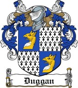 Thumbnail Duggan Family Crest / Irish Coat of Arms Image Download