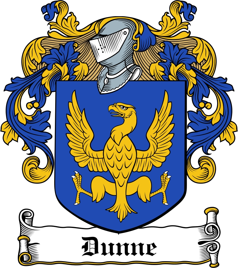 Thumbnail Dunne Family Crest / Irish Coat of Arms Image Download