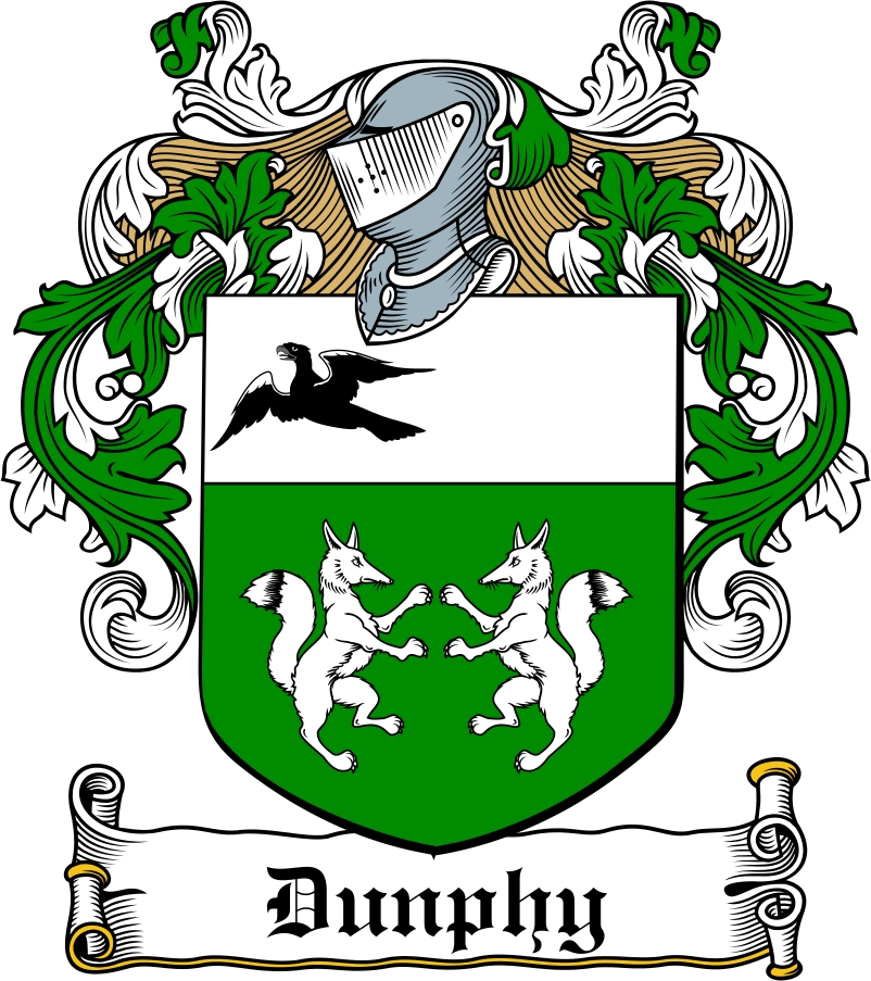 Thumbnail Dunphy Family Crest / Irish Coat of Arms Image Download
