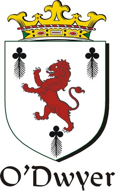 Thumbnail Dwyer-O Family Crest / Irish Coat of Arms Image Download