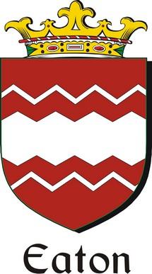 Thumbnail Eaton Family Crest / Irish Coat of Arms Image Download