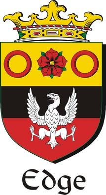 Thumbnail Edge Family Crest / Irish Coat of Arms Image Download