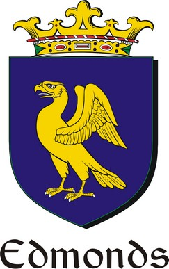 Thumbnail Edmonds Family Crest / Irish Coat of Arms Image Download